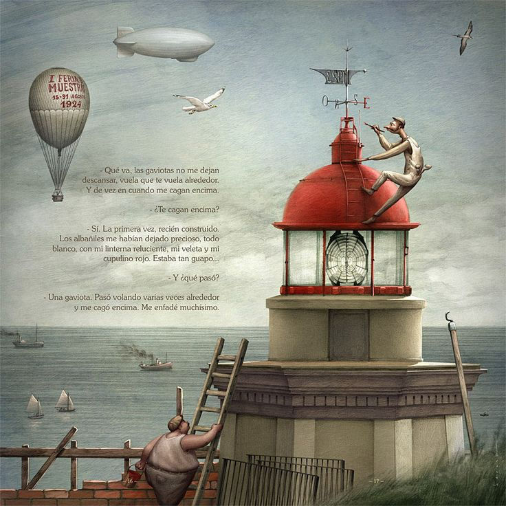 Torres Lighthouse (illustrated book) on Behance