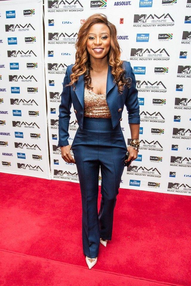 DJ Zinhle at the MTV Africa Music Awards