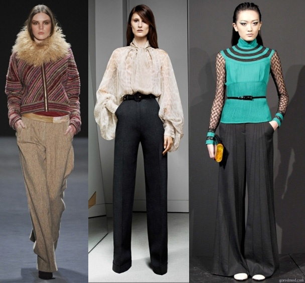 FROM NARROWED TO WIDE!    For years now, different styles of clothes and accessories created  women's wardrobe: flares and tights, yoked and pleated, highs and flats, full, colored, peplum, cropped and the list goes on…     Read more: http://lamasatonline.net/en/fashion-h/fashion-editorial/from-narrowed-to-wide/7277