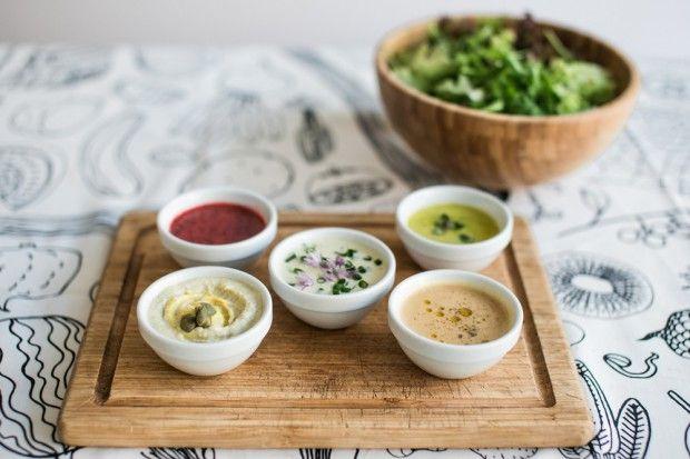 5 Raw Salad Dressings