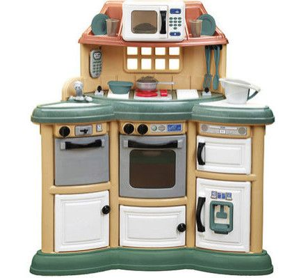 American Plastic Toys  Piece Homestyle Kitchen Set