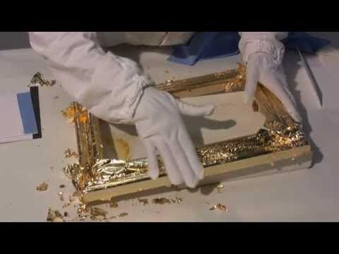 Курс Золочения: 6 - Имитация благородных металлов - поталь — Яндекс.Видео
