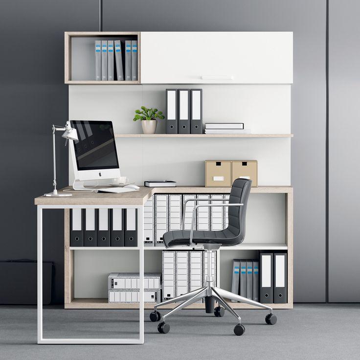 ¿Un espacio de trabajo debe ser un espacio aburrido? Rotundamente... ¡no! Se puede y se debe ir más allá, apostando por muebles que, poniendo por delante s