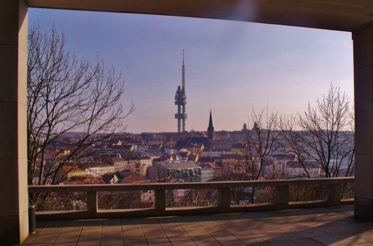 Taken from Vitkov Park, Prague