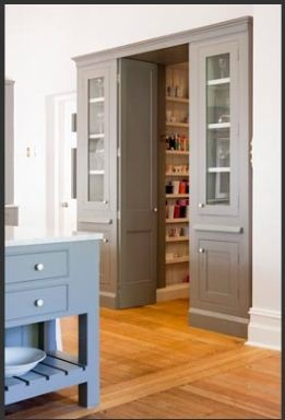 Entrance Pantry And The Double On Pinterest