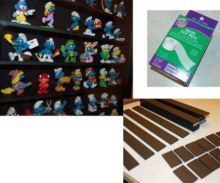 How to make a Smurf display cabinet