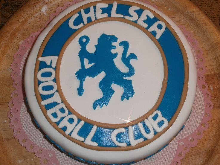 Chelsea birthday cake for Kristian