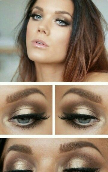 Love this look! Gorgeous on blue eyes, recreate this look with Youniques pigments from www.cjbcosmetics.com