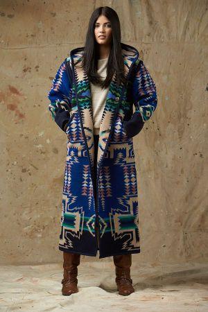 Pendleton® Reversible Long Coat, North Star