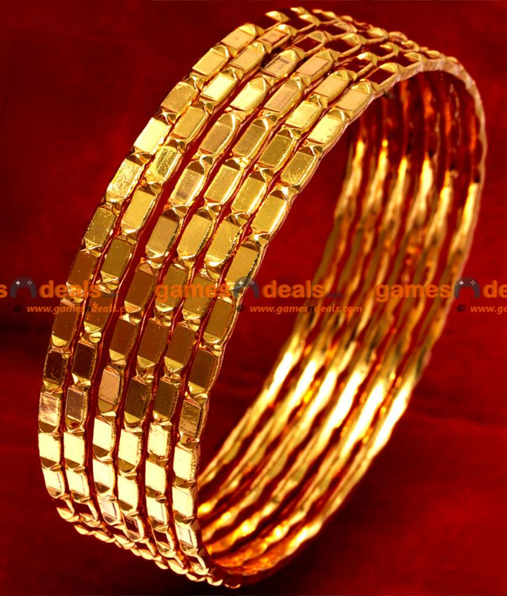 Image from http://www.gamesndeals.com/image/catalog/Everest%20Gold%20Covering/Bangle%20Designs/BR019-gold-plated-bangle-traditional-design-south-indian-jewellery-online-1.jpg.