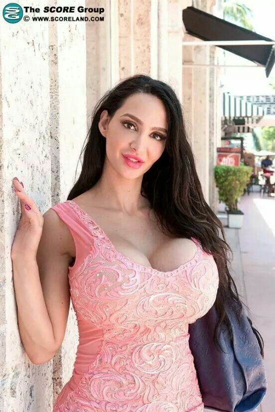 Big tits suspenders