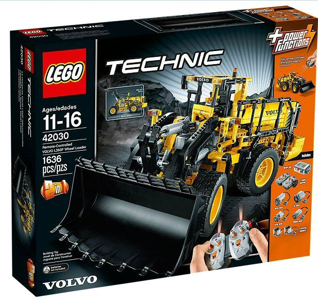 LEGO Technic 42030 Remote Controlled VOLVO Wheel Load Climb Aboard The  Volvo Developed In Partnership With Volvo Construction Equipment, This