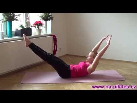Pilates klasika pro mírně pokročilé // www.na-pilates.cz // - YouTube