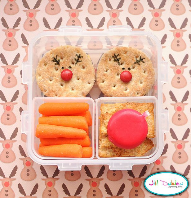reindeer.: Bento Lunches, Kids Lunches, Christmas Lunchbox, Lunches Snacks Ideas, Cute Ideas, Christmas Bento, Bento Ideas, Lunches Ideas, Christmas Lunches