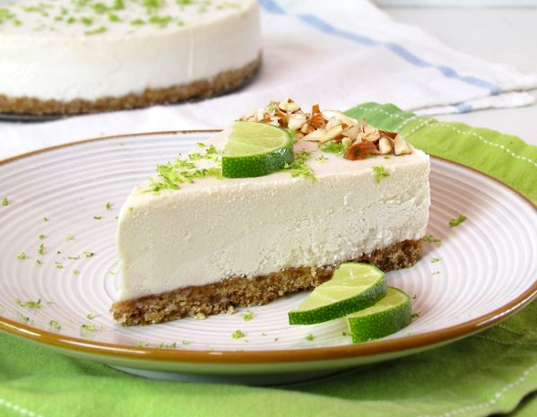 "Raw Vegan Key Lime ""Cheesecake"": Keys Limes Pies, Raw Vegans, Recipe, Vegans Keys, Gluten Free, Glutenfree, Keys Limes Cakes, Keys Limes Cheesecake, Key Lime Cheesecake"
