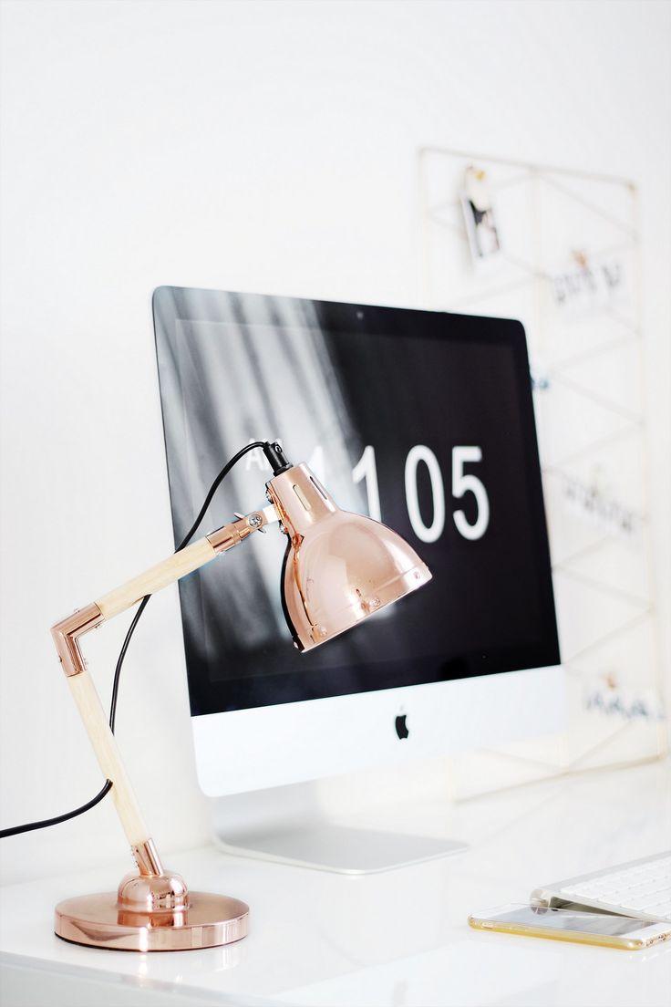 die besten 25 schreibtischlampe ideen auf pinterest betonlampe edison edison beleuchtung und. Black Bedroom Furniture Sets. Home Design Ideas