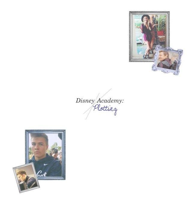 """ERIC ROGERS & AVALON BARTON ~ DISNEY ACADEMY PLOTTING"" by lxslies-univxrse ❤ liked on Polyvore"