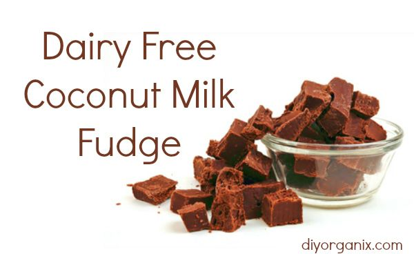 Dairy Free Coconut Milk Fudge