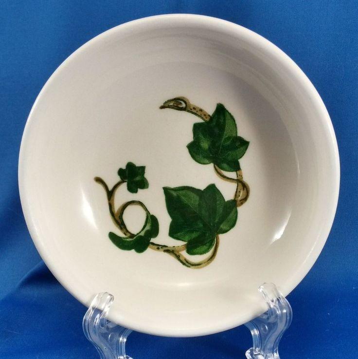 Poppytrail by Metlox California Ivy Berry Dessert Bowl White Green Brown 5-1/8 & 36 best California Ivy Dinnerware images on Pinterest | Hedera ...