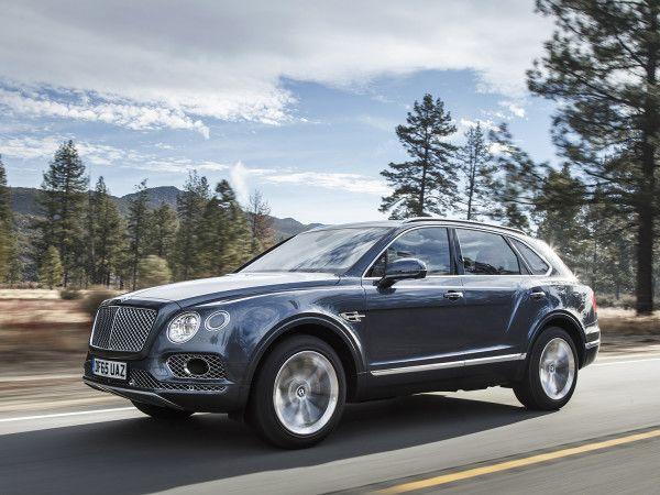 Bentley s uber luxury bentayga suv is a supercar shaped like an suv
