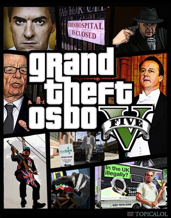 grand theft auto 5 george osborne spoof
