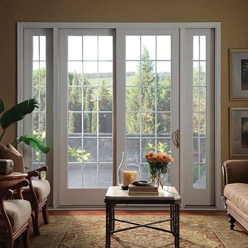 25 best ideas about prehung interior french doors on for Sliding french doors with sidelights