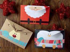 Esta navidad regala una linda tarjeta, sigue este sencillo paso a paso y en menos de 5 minutos estará lista, es ideal para poner en el árbol o incluso los niños pueden dejar su carta a Santa Claus o Reyes Magos. ¡Que esperas!