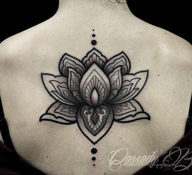 17 best ideas about Tribal Lotus Tattoo on Pinterest