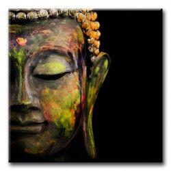 No hay cuadro en lienzo más bonito que este sobre Buda. Es un lienzo de gran calidad y magnífico colorido. Es ideal para la decoración de ambientes minimalistas, también puede ser un regalo muy bonito.