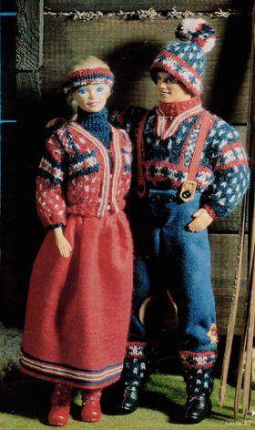 Norden rundt med Barbie og Ken - Skatkisten - Håndarbejde og strikkeopskrifter - Familie Journal