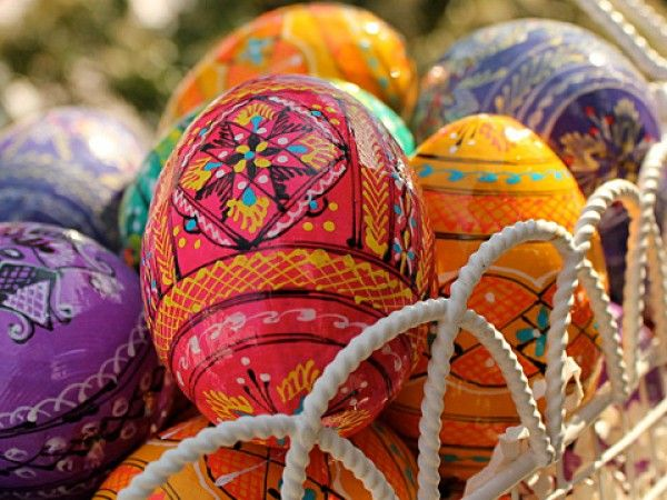 Colorful Ukrainian Eggs! Beautiful for Spring and Easter!
