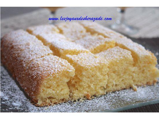 moelleux au citron - Les joyaux de sherazade : Recettes de cuisine algerienne et de monde.:-)