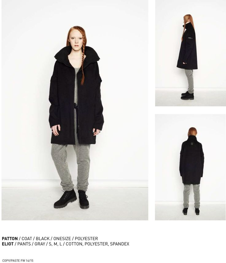 nenukko.com #black #winter #coat