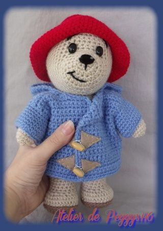 Amigurumi Paddington Bear : 46 basta bilderna om Poppen p? Pinterest Gratis monster ...