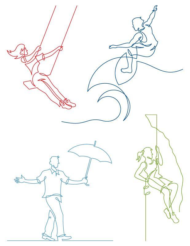 glitschka studios | illustrative designer : Drawing the Line