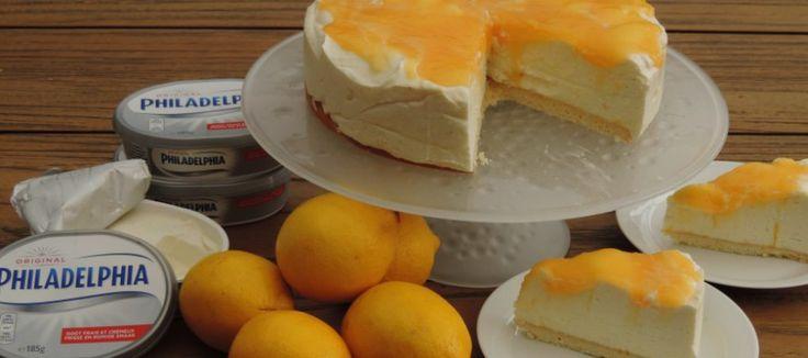 Lemoncurd 'niet-in-de-oven' cheesecake met Philadelphia Natural | Lekker Tafelen