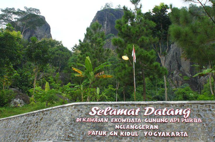 Ekowisata Gunung Api Purba Nglanggeran gunugn kidul, yogyakarta
