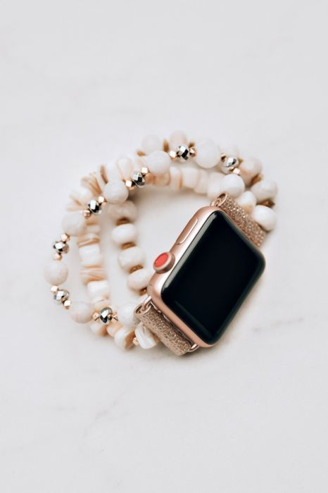 d4e288222d2 Candy Apple Watch Bracelet Band - Ivory in 2019