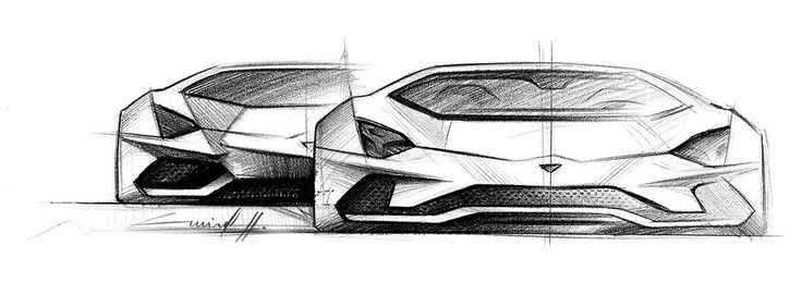 Lamborghini Design Sketch