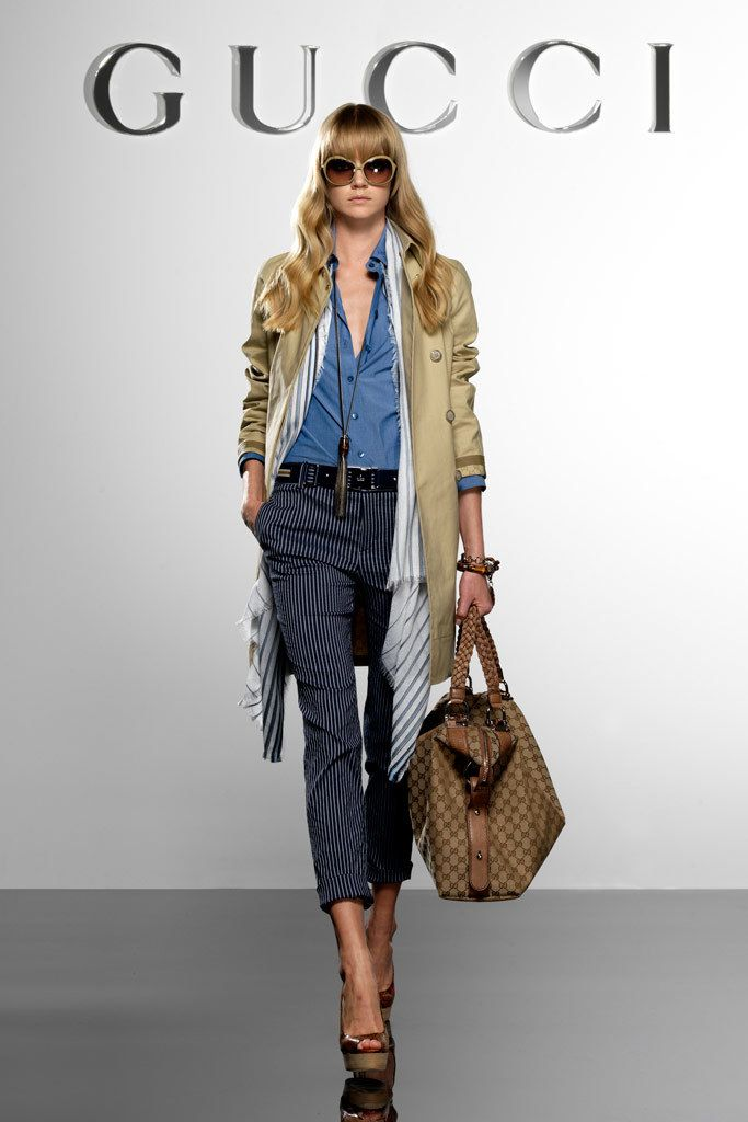 Gucci Resort 2010 Fashion Show - Lindsay Ellingson