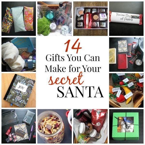 17 best ideas about secret santa gifts on pinterest gift for Secret santa craft ideas