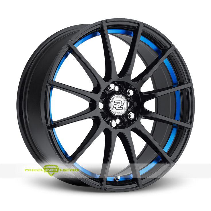 Drag Concepts R16 Black Wheels For Sale  - For more info:  http://www.wheelhero.com/customwheels/Drag-Concepts/R16-Black