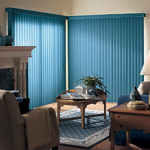 Bali Americana Vinyl Vertical Blinds Boldcolors In The Livingroom