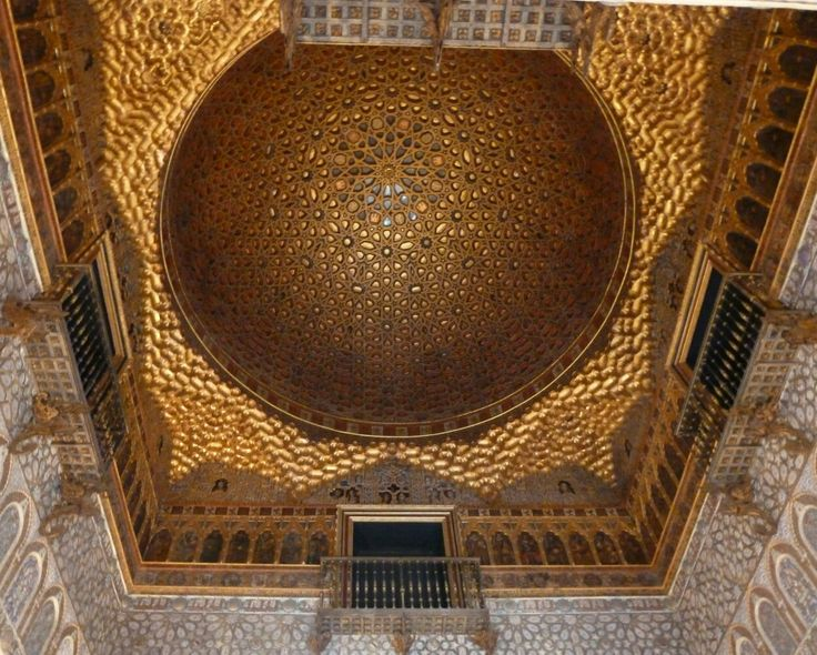 Palazzo Alcazar. Siviglia, 2011. #Sevilla #AlcazarPalace #goldceiling #gold #mosaic