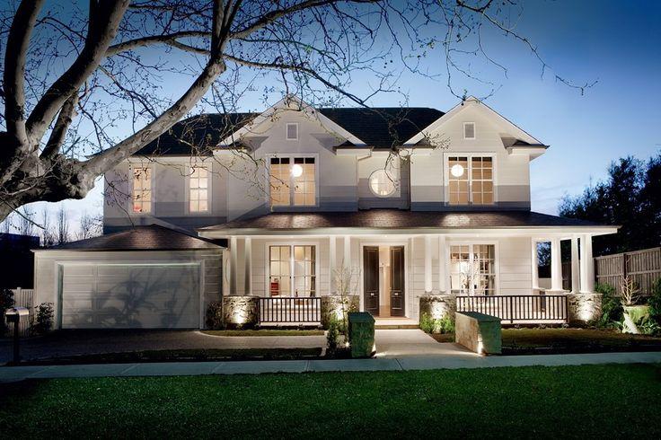 hamptons style homes australia - Google Search