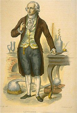 Redefining Elements by Kim Rendfeld in History of Science  Antoine Laurent Lavoisier, the 18th century father of modern chemistry, whose observations changed the way scientists thought about matter, elements, and how constituents of matter combine. kimrendfeld.wordpress.com