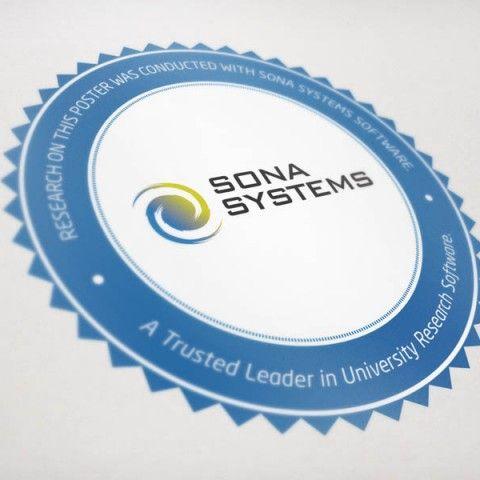 Sona Systems - Event Sticker