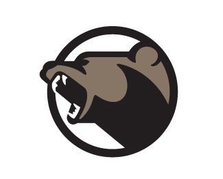 Bear logo for a Nevada casino