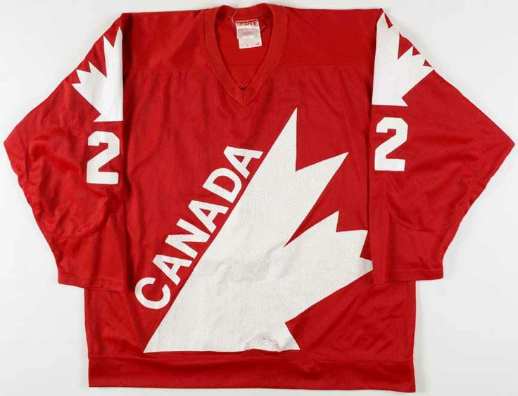 1981 Mike Bossy Canada Cup Team Canada Game Worn Jersey - Photo Match - Video Match