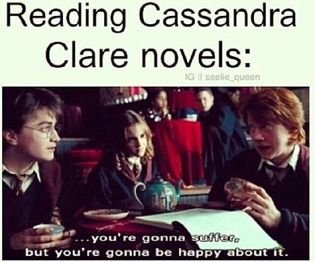 Truth. That's actually what Cassie said about CoHF....#TwitterIt
